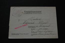 Lettre De Prisonnier De Guerre STALAG 66 Kriegsgefangenenpost 1943 - Documents