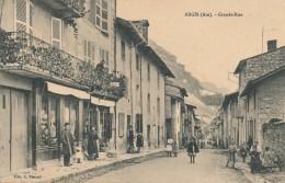 H121 - 01 - ARGIS - Ain - Grande Rue - France
