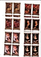 Korea Democratic People's Republic Scott 2109-2114 1981 Reubens Paintings,set 6 Sheetlets,mint Never Hinged - Korea, North