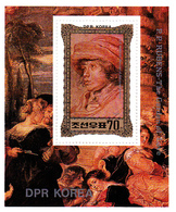 Korea Democratic People's Republic Scott 2115 1981 Reubens Paintings, Souvenir Sheet,mint Never Hinged - Korea, North