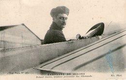 (64)  CPA Roland Garros  (Bon Etat) - Aviateurs