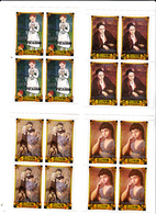 Korea Democratic People's Republic Scott 2145-2148 1982 Pablo Picasso Set 6 Sheetlet,mint Never Hinged - Korea, North