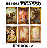 Korea Democratic People's Republic Scott 2149 1982 Pablo Picasso Sheetlet,mint Never Hinged - Korea, North