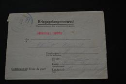 Lettre De Prisonnier De Guerre STALAG XA66 Kriegsgefangenenpost 1943 - Documents