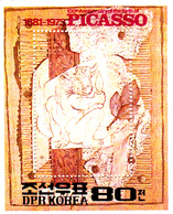 Korea Democratic People's Republic Scott 2150 1982 Pablo Picasso Souvenir Sheet,mint Never Hinged - Korea, North