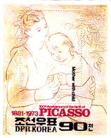 Korea Democratic People's Republic Scott 2151 1982 Pablo Picasso Souvenir Sheet,mint Never Hinged - Korea, North