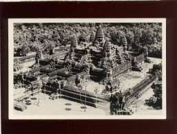 Cambodge  Ankor Vue Aérienne Du Temple Carte Photo - Cambodia