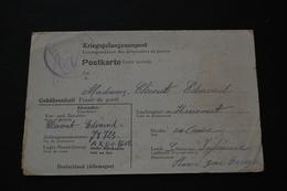 Carte Postale De Prisonnier De Guerre STALAG XA66 Kriegsgefangenenpost 1943 - Documents
