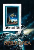 Korea Democratic People's Republic Scott 2198 1982 Space Exploration, Souvenir Sheet,mint Never Hinged - Korea, North