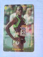 72JAMC Marlene Ottey  (Olympics) $200 - Jamaica