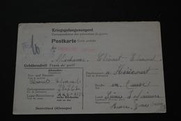 Carte Postale De Prisonnier De Guerre STALAG XA53 Kriegsgefangenenpost 1943 - Documents