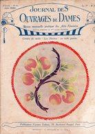 Journal Des Ouvrages De Dames  - No 423 - 1923 - Broderie - Dentelle - Crochet - Tricot - Paris - Mode - Bruxelles - Books, Magazines, Comics
