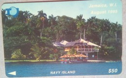 75JAMB Navy Island $50 - Jamaica