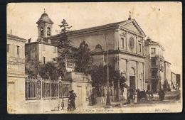 06 -NICE  Ouest  - Cpa L'Eglise Saint Pierre - Animée -  Recto Verso- Paypal Sans Frais- - Monuments, édifices