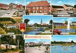 72865203 Sassenberg Westfalen Klingenhagen Stadtverwaltung Hotel Boerding Freiba - Duitsland