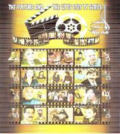 Iraq 2018 April New Imperf Stamps Sheets - TV Series - The Vulture - City Eyes - Iraq