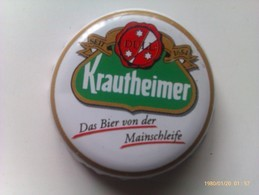 Chapa Kronkorken Caps Tappi Cerveza Krautheimer. Alemania - Bière