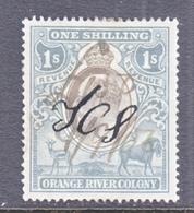 ORANGE  RIVER  COLONY  100   (o)  Wmk  CC - South Africa (...-1961)