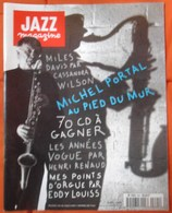 REVUE JAZZ MAGAZINE N° 491 AVRIL 1999 MICHEL PORTAL MILES DAVIS CASSANDRA WILSON EDDY LOUIS TRèS RARE & BON ETAT - Music