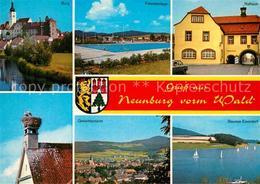 72868339 Neunburg Wald Burg Freizeitanlage Freibad Rathaus Stausee Eixendorf Sto - Ohne Zuordnung