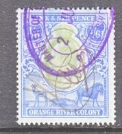 ORANGE  RIVER  COLONY  101   (o)  Wmk  CC - South Africa (...-1961)