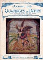 Journal Des Ouvrages De Dames - No 409 - 1922 - Broderie - Dentelle - Crochet - Tricot - Paris - Mode - Bruxelles - Books, Magazines, Comics