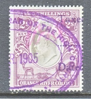 ORANGE  RIVER  COLONY  102   (o)  Wmk  CC - South Africa (...-1961)
