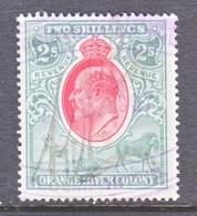 ORANGE  RIVER  COLONY  103   (o)  Wmk  CC - Orange Free State (1868-1909)