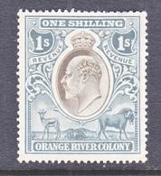 ORANGE  RIVER  COLONY  113   *  Wmk  MULTI CA - South Africa (...-1961)