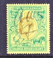 ORANGE  RIVER  COLONY  115   (o)   Wmk  MULTI CA - Orange Free State (1868-1909)