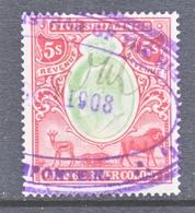 ORANGE  RIVER  COLONY  117   (o)   Wmk  MULTI CA - South Africa (...-1961)