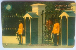 18JAMA Kings House Gate $50 - Jamaica