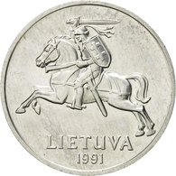 Monnaie, Lithuania, 2 Centai, 1991, SUP, Aluminium, KM:86 - Lituania