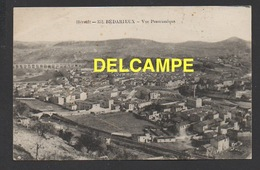 DF / 34  HERAULT / BEDARIEUX / VUE GENERALE PANORAMIQUE / CIRCULÉE EN 1920 - Bedarieux
