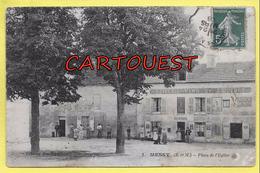 CPA 77 MESSY COMMERCE GEOFFROY 1908 Epicerie Vins Liqueurs - Altri Comuni
