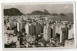 CPA    BRESIL BRASIL       VUE AERIENNE DE COPACABANA - Copacabana