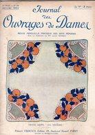 Journal Des Ouvrages De Dames - No 406 - 1922 - Broderie - Dentelle - Crochet - Tricot - Paris - Mode - Bruxelles - Books, Magazines, Comics