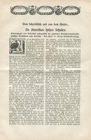 An Amerikas Hohen Schulen / 1905 / Prof.Dr.Steindorff Leipzig, Ex Monatshefte (Velhagen Und Klasing),8 Seiten (4/958-30) - Books, Magazines, Comics