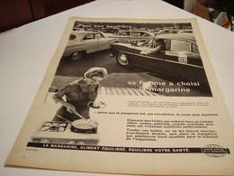 ANCIENNE AFFICHE PUBLICITE SA FEMME A CHOISI  MARGARINE  1960 - Posters
