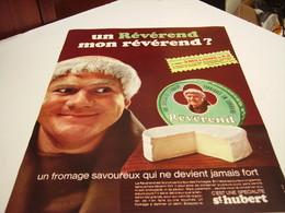 ANCIENNE AFFICHE PUBLICITE UN REVEREND MON REVEREND DE ST HUBERT 1967 - Posters