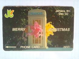 10JAMB Merry Christmas $50  Dec 1992 - Jamaica