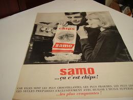ANCIENNE AFFICHE  PUBLICITE CA C EST CHIP DE SAMO  1964 - Posters