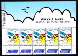 Nederland 2018 Nvph Nr ?, Mi Nr ?; Fokke En Sukke , Nieuw Kader Sheet, Internationaal - Periode 2013-... (Willem-Alexander)