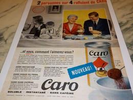 ANCIENNE AFFICHE PUBLICITE RAFFOLENT DE CARO 1959 - Posters