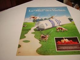 ANCIENNE AFFICHE  PUBLICITE LAIT CONCENTRE DE NESTLE 1980 - Posters