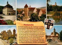 72851774 Neckarsulm Schloss Rathaus Turm Neckarsulm - Neckarsulm