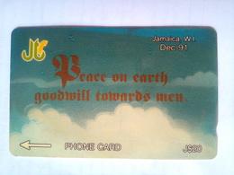 14JAME Peace On Earth Dec1991 - Jamaica