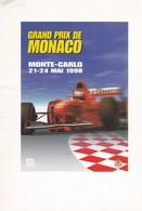 GRAND PRIX DE MONACO, MONTE CARLO ,21-24 Mai 1998, Menu Du Diner De Gala - Menus