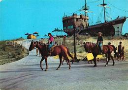 72855572 Slantchev Brjag Die Piratenfregatte Pferde Bulgarien - Bulgarie