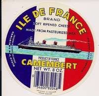 CAMENBERT ILE DE FRANCE - Cheese